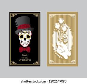 Business Card Skulls Images Stock Photos Vectors Shutterstock