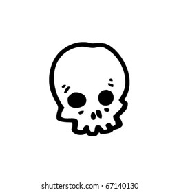 skull cartoon