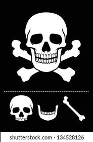 skull and crossed bones icon