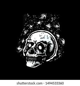 Skull from the galaxy explorer