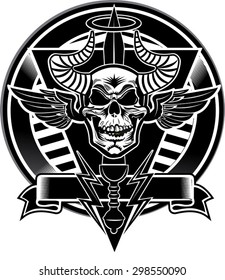 Skull and Gladius