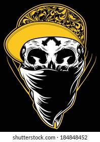 Skull Graphic Illustration