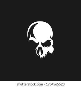 Skull logo Design Template Idea
