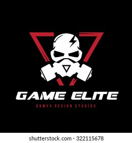 skull logo,Extreme sport logo,speed logo,Vector logo template