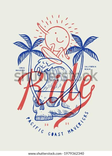 skull-palms-eyes-wave-illustration-600w-