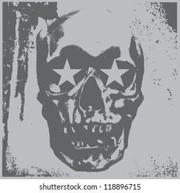 Skull Star Eyes
