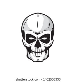 Skull Face Images Stock Photos Vectors Shutterstock