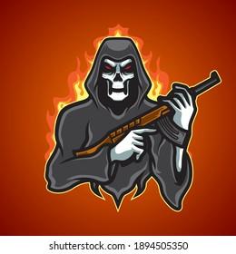 Skull Terror E Sport Logo