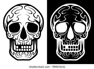 skull vector file