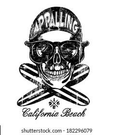 skull vector / t-shirt graphics