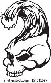 skull wave