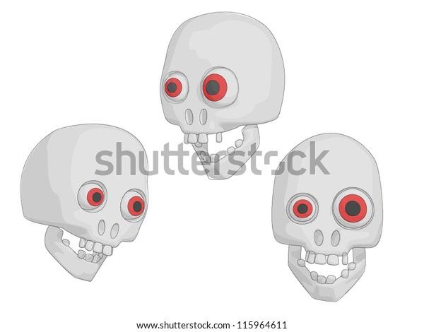 Skulls (Human for Halloween etc).