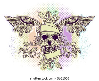 skull&wings emblem