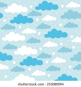 sky background design children bedroom