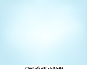 Sky blue clean gradient background. Vector illustration.