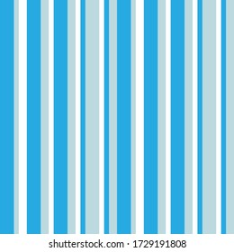 Sky blue vertical striped seamless pattern background suitable for fashion textiles, graphics