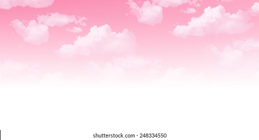 Sky cherry background