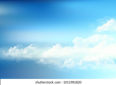 Sky cloud landscape background