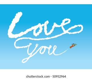 Sky Writing - Love