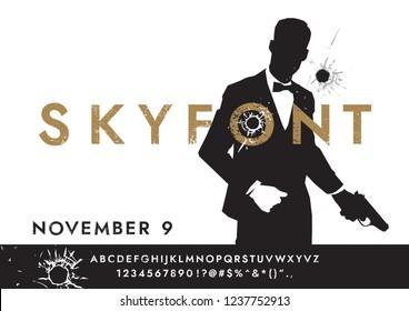 SKYFONT movie font