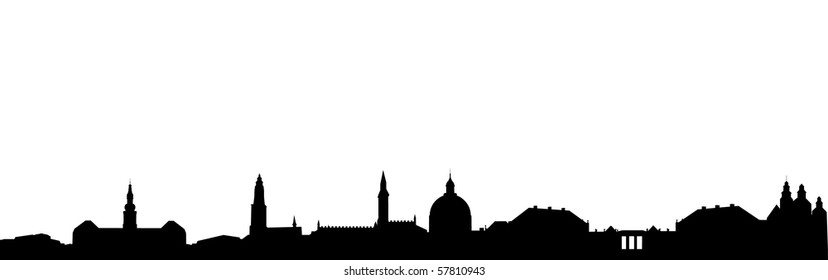 Skyline of Copenhagen