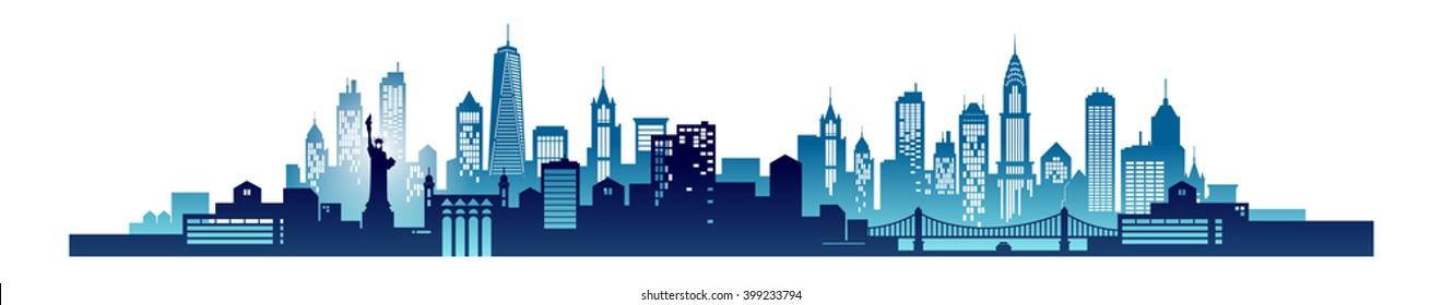 new york skyline images stock photos vectors shutterstock