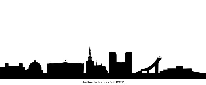Skyline of Oslo
