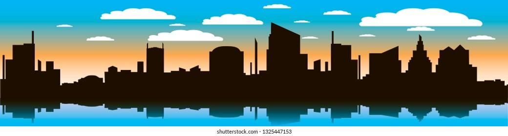skyline- vector illustration