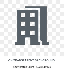 Skyscrapper icon. Skyscrapper design concept from  collection. Simple element vector illustration on transparent background.