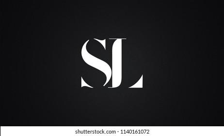 SL Letter Logo Design Template Vector