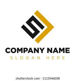 SL, LS, L5 Company Group Logo Concept Idea