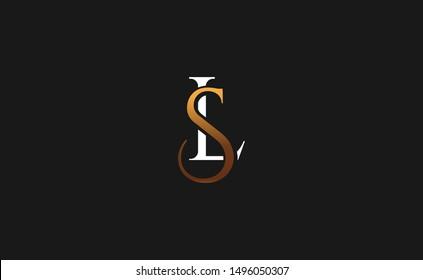 SL. LS letter Logo Design Template Vector