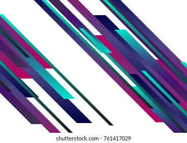 Slanting lines on a white background. Business background with lines in gradient - vector background.