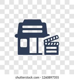 slapstick icon. Trendy slapstick logo concept on transparent background from Cinema collection