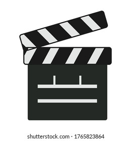 slate black board icon - From Movie and film icons set