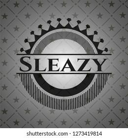 Sleazy dark icon or emblem