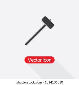 Sledgehammer Icon Vector Illustration Eps10