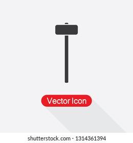 Sledgehammer Icon Vector Illustratration Eps10