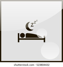 Sleep icon.