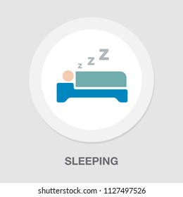 sleep icon - hotel symbol