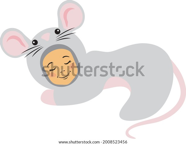 sleeping-baby-mouse-suit-vector-600w-200