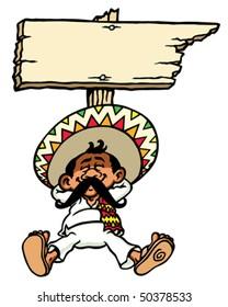 Sleeping Mexican.