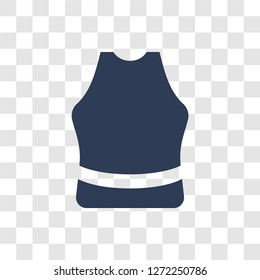 Sleeveless icon. Trendy Sleeveless logo concept on transparent background from Gym and Fitness collection