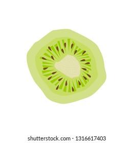 Vectores, imágenes y arte vectorial de stock sobre Top View of Kiwi