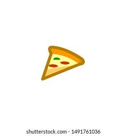 Slice Tasty Pizza Stock Vectors Images Vector Art