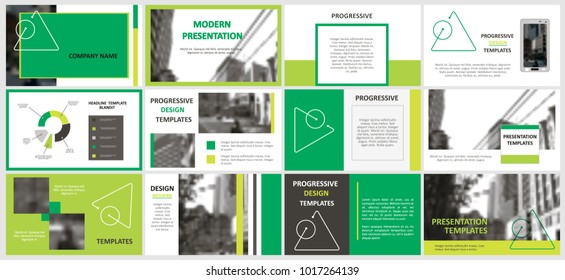 Slides. Modern presentation template. Abstract infographic elements. Title sheet. Brochure cover design. Illustration with image. Business. Light. Simple. Corporate info banner frame.