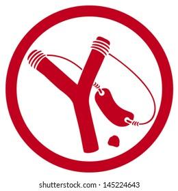 slingshot symbol (icon)