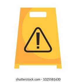 slippery wet floor sign warning cleaning