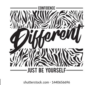 Slogan, Different Illustration Graphic Vector.