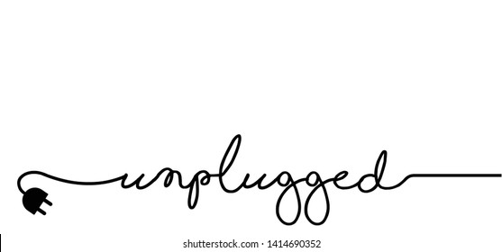 Slogan oops I'm so sorry. Funny vector electric quotes for motivation, networking internet concept Page not found, 404 error. Offline or online day and unplugged sign Under construction, broken cable